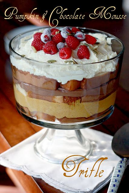 Pumpkin Trifle | Favorite Recipes | Pinterest