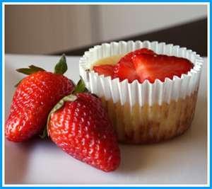 No-Bake Creamy Strawberry Mini Pies | Just Pie | Pinterest