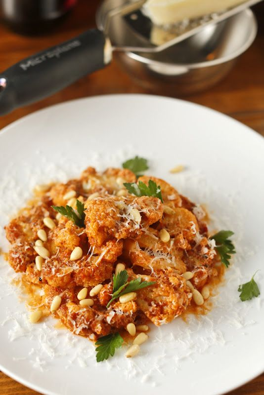 Cauliflower In Creamy Tomato Sauce Recipes — Dishmaps