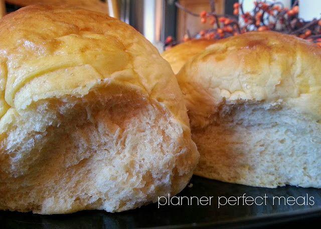 PPM: sweet potato and honey dinner rolls | breaking B R E A D | Pinte ...
