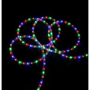 20 multi color led indoor outdoor christmas rope lights