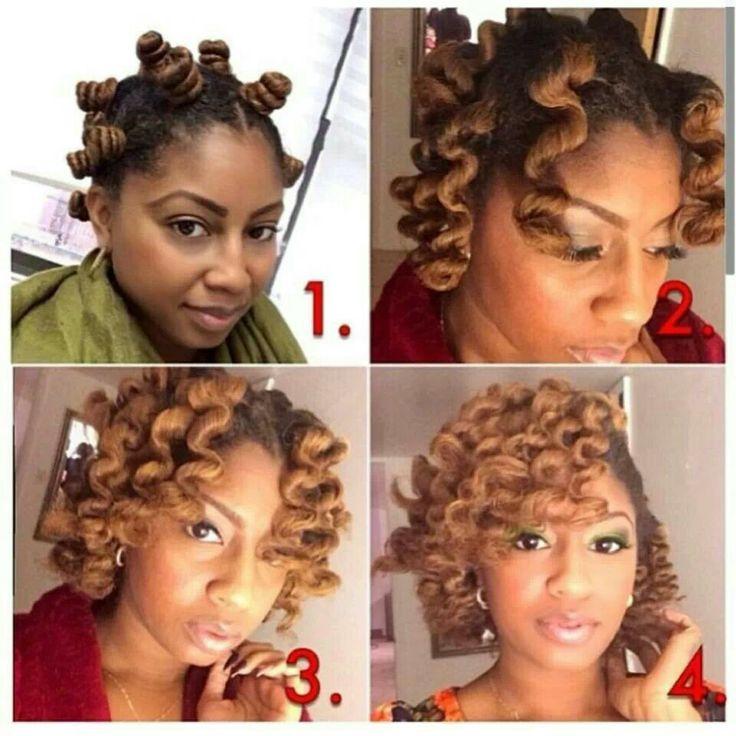 Beautiful Bantu Knot Out Hairstyles Pinterest
