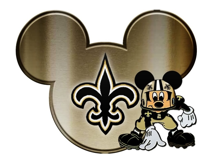 New+Orleans+Saints+Clip+Art New Orleans Saints--with Mickey Mouse ...