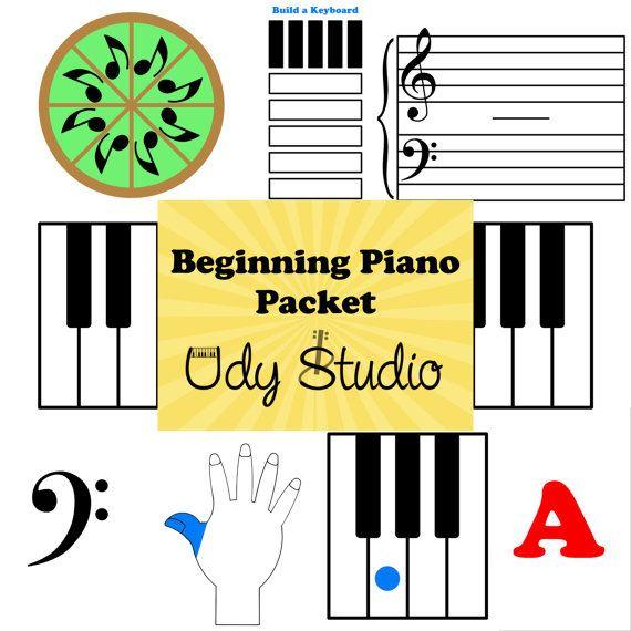 Beginning piano worksheets 7th