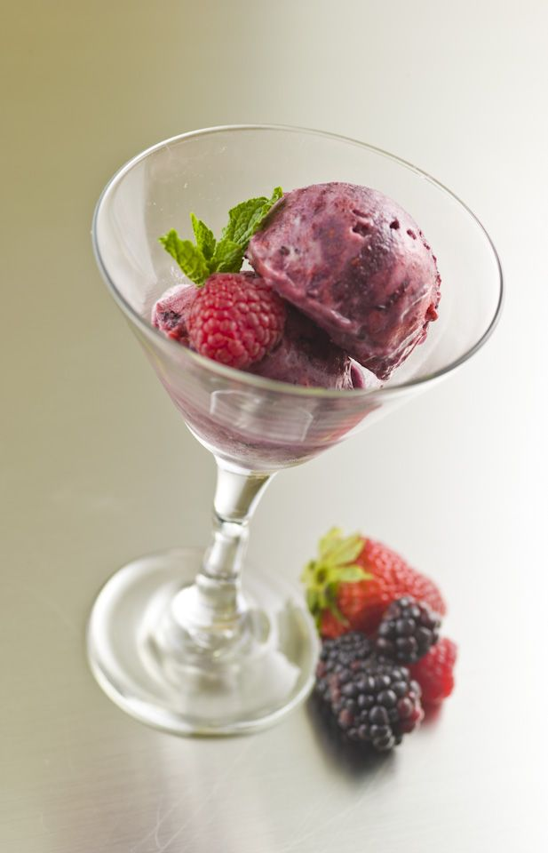 mixed berry sorbet 12 tomatoes mixed berry sorbet in ice cream recipes ...