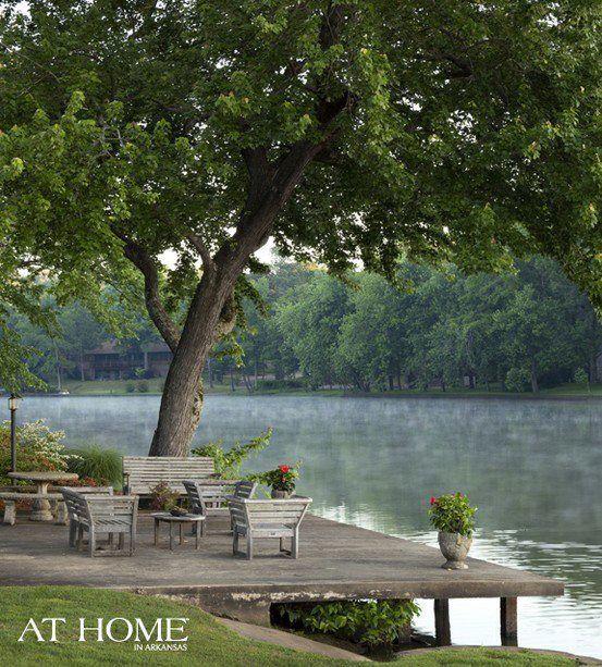 Living On A Lake : lake deck  Lake Deck Decor  Pinterest