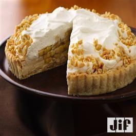 Banana-Peanut Butter Cream Tart from Jif®
