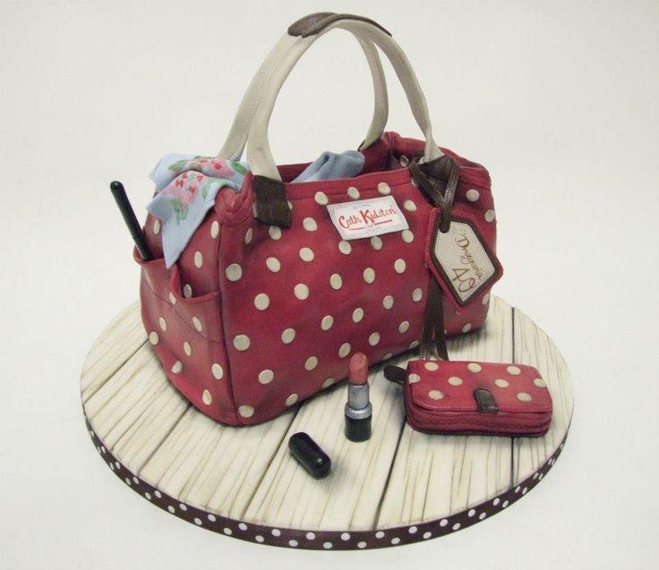 Cath Kidston Handbag... cake! cake decorating ideas ...