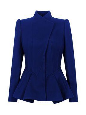 Ted Baker.   Classy blue blazer/jacket