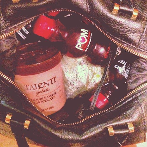 Mullins: Princess movie bag: edamame, pomegranate juice, and gelato ...