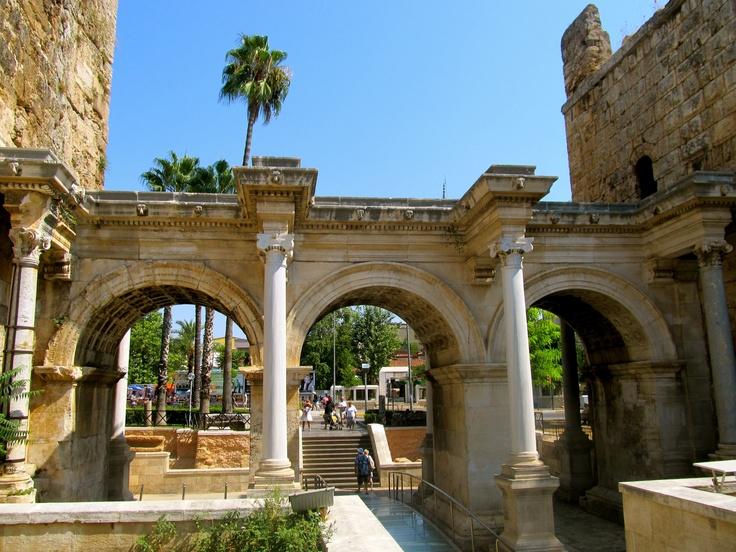 Hadrians Gate, Antalya, Turkey  Turkey  Pinterest