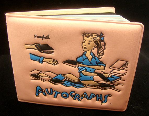 Ponytail autograph book