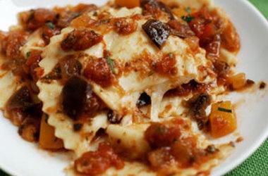 ... beans and pecorino lamb and ricotta crespelle with tomato and pecorino
