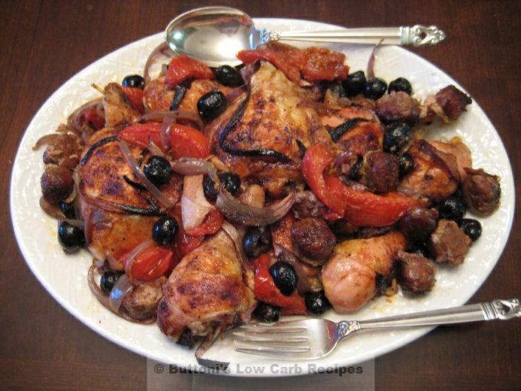 Mediterranean Chicken Bake Recipe — Dishmaps
