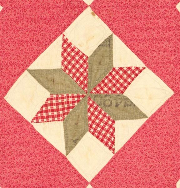 Vintage Variable Star Quilt detail Quilt Blocks ,Tutorials,Patterns?