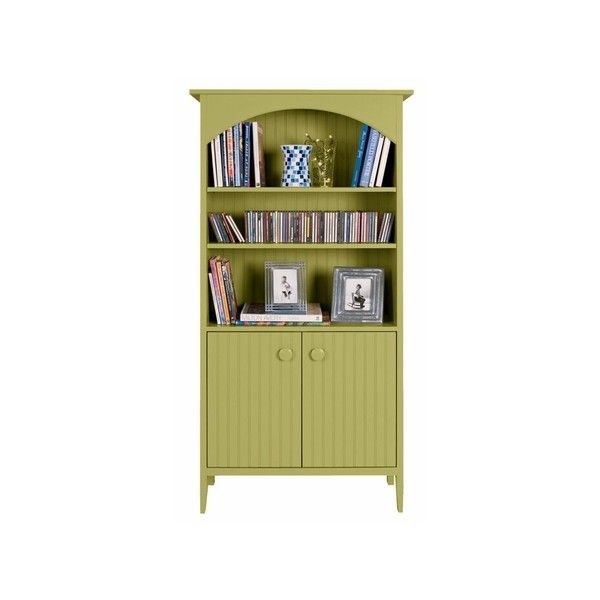 Great Island Bookshelf with Doors | household accessories | Pinterest