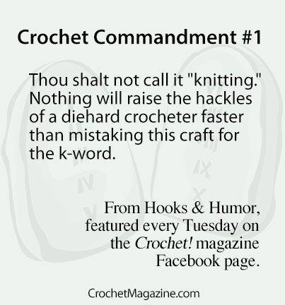 Crocheting Jokes : Hooks & Humor From Crochet! Magazine Crochet Jokes Pinterest