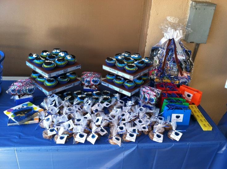 cookie monster baby shower treats baby shower ideas pinterest