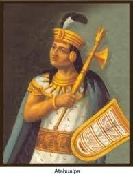 18 – (1533) Mayo - Nuestro amigo, el pintor Diego de Mora ha terminado un retrato del Inca, no se le parece mucho. Atahualpa en persona luce mas joven, tiene muy buena estampa a sus 33 años, la misma edad de Cristo. (algunos dicen que tenia más).