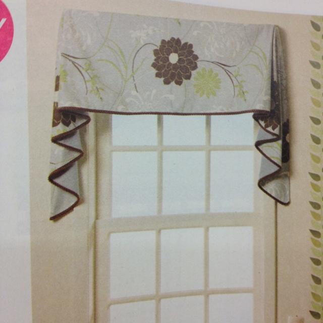 Kitchen Curtain Pattern...