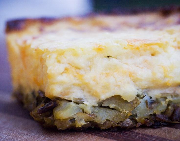 Twice Baked Potato Pie | food | Pinterest