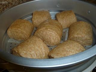 Healthy steamed buns (mantou) | Yum Food | Pinterest