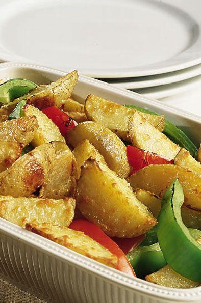 Parmesan Potato Wedges | Recipes | Pinterest