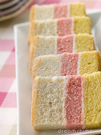 Angel Cake Recipe Pink Yellow White