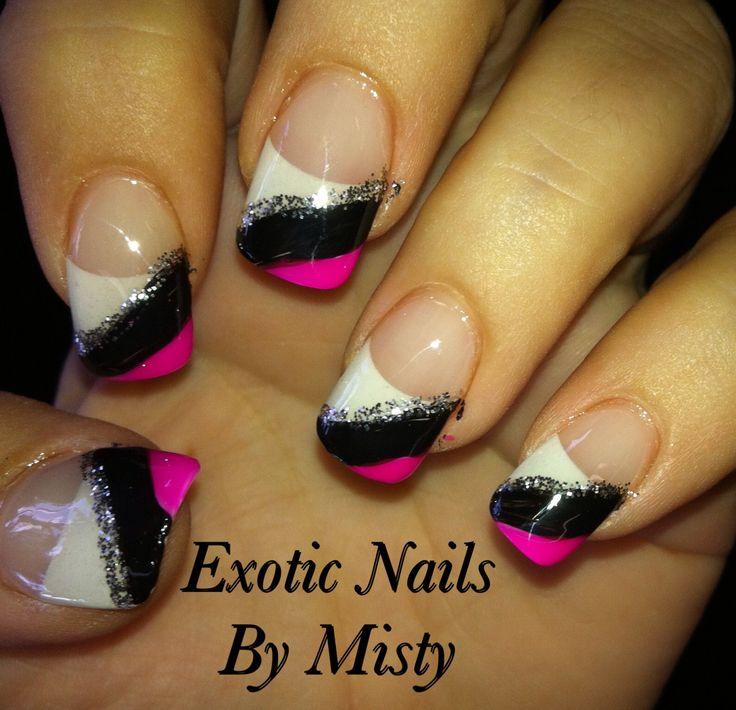 Exotic Nail Design Images: Dragon fruit inspired nail art nailz ...