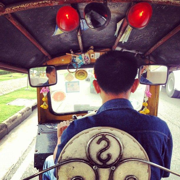 Bangkok travel- tuk tuk