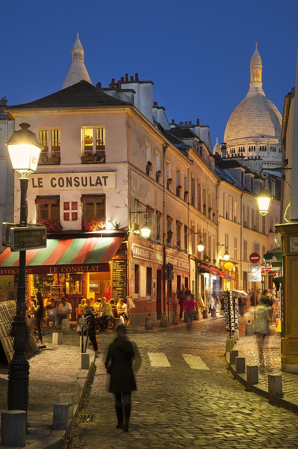 Montmartre Twilight