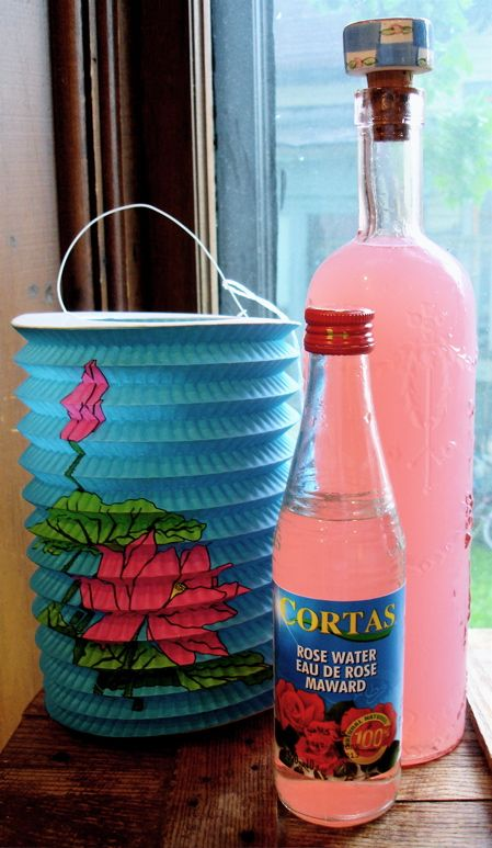 rosewater lemonade | Picnic Recipes | Pinterest