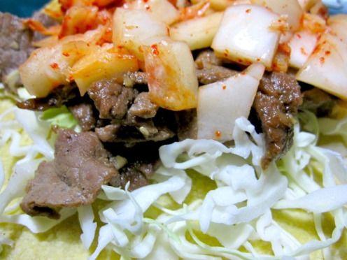Kogi style kimchi-bulgogi tacos | Recipes & Good Eats | Pinterest