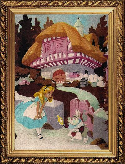 Alice In Wonderland The Cottage Arrival Home Decor Wall Decor Mixed M