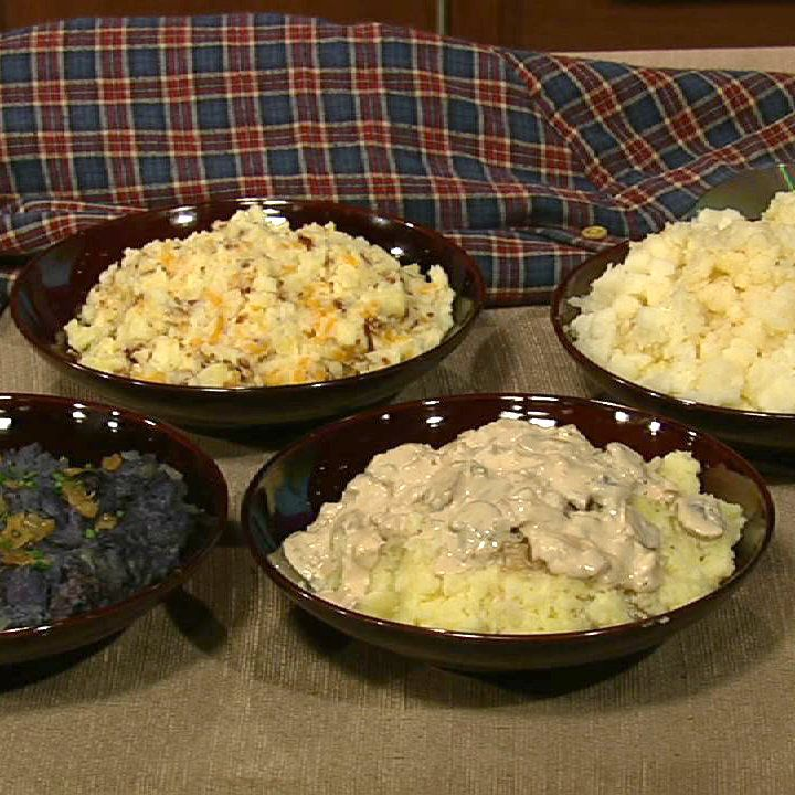 the chew | Recipe | Michael Symon's Brown Butter Mashed Potatoes