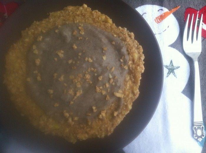 gingerbread oatmeal pancake | Oatmeal Recipes | Pinterest