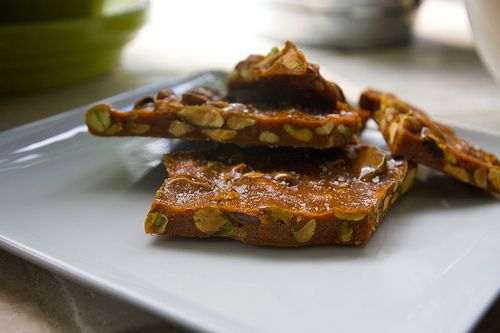 Salted Pistachio Brittle | Shutterbean {This is just great stuff ...