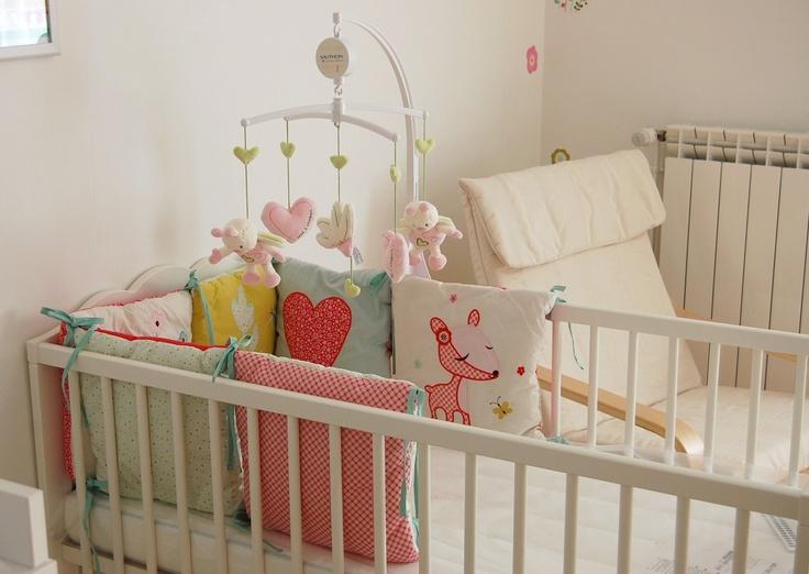 Tour de lit for Vertbaudet chambre bebe