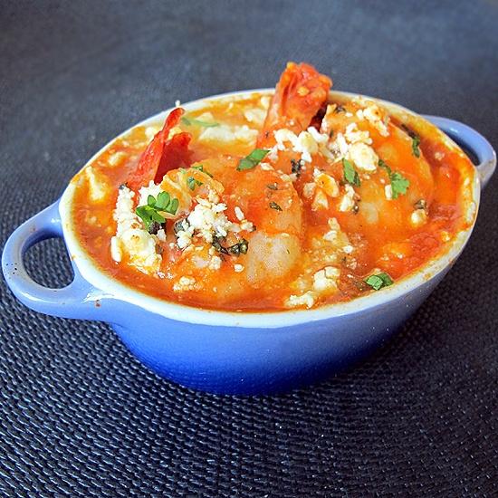 Shrimp Saganaki | Recipies to Try - Seafood | Pinterest