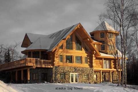 Alaska Log Homes Dream Log Home Pinterest
