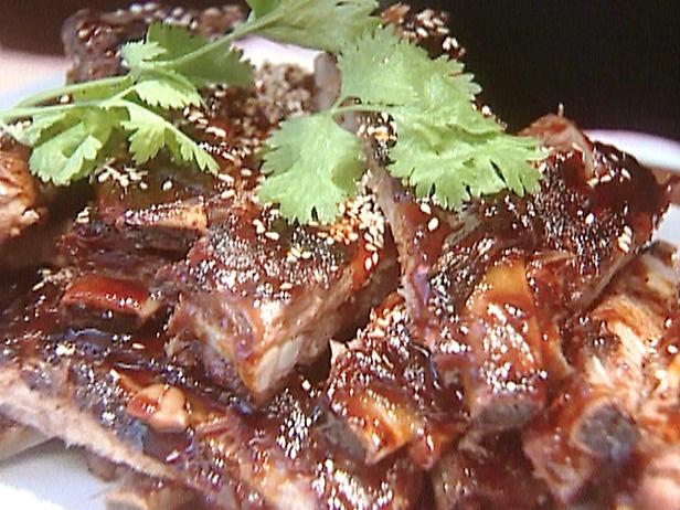 Chinese Spareribs with Teriyaki Glaze | Recipe
