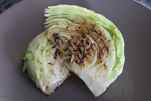 Grilled Cabbage! O M G! Another fav of ours! Cut cabbage in 4's, wrap ...