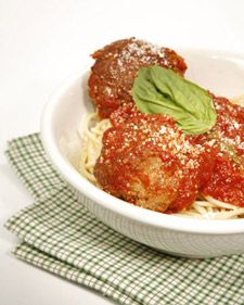 "This recipe for Frankie's Meatballs comes from ""Rao's Cookbook,&..."