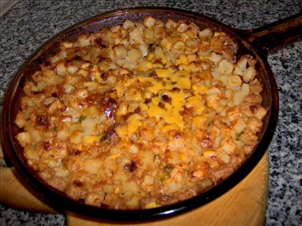 cracker barrel hash browns casserole 2 - copycat.