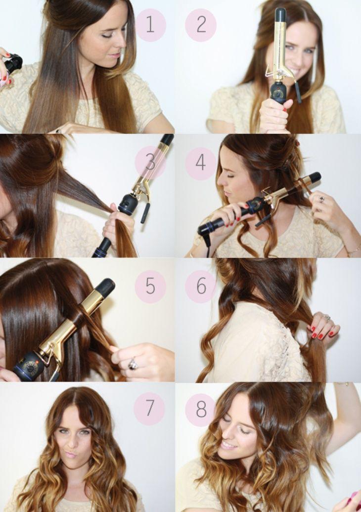 Как сделать так чтобы волосы быстро вились
