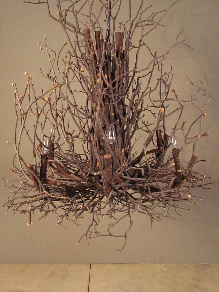 Twig Chandelier Home Decor To Die For Pinterest