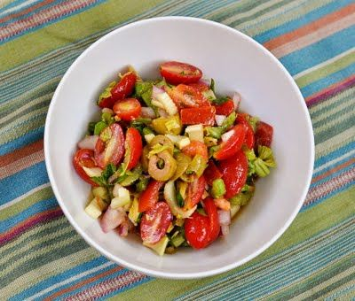 bloody mary salad | Healthy can be yummy | Pinterest