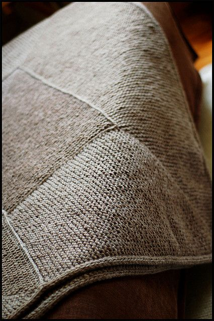 Knitting Pattern Garter Stitch Afghan : EZ Garter Stitch Afghan Pattern crochet and other ...