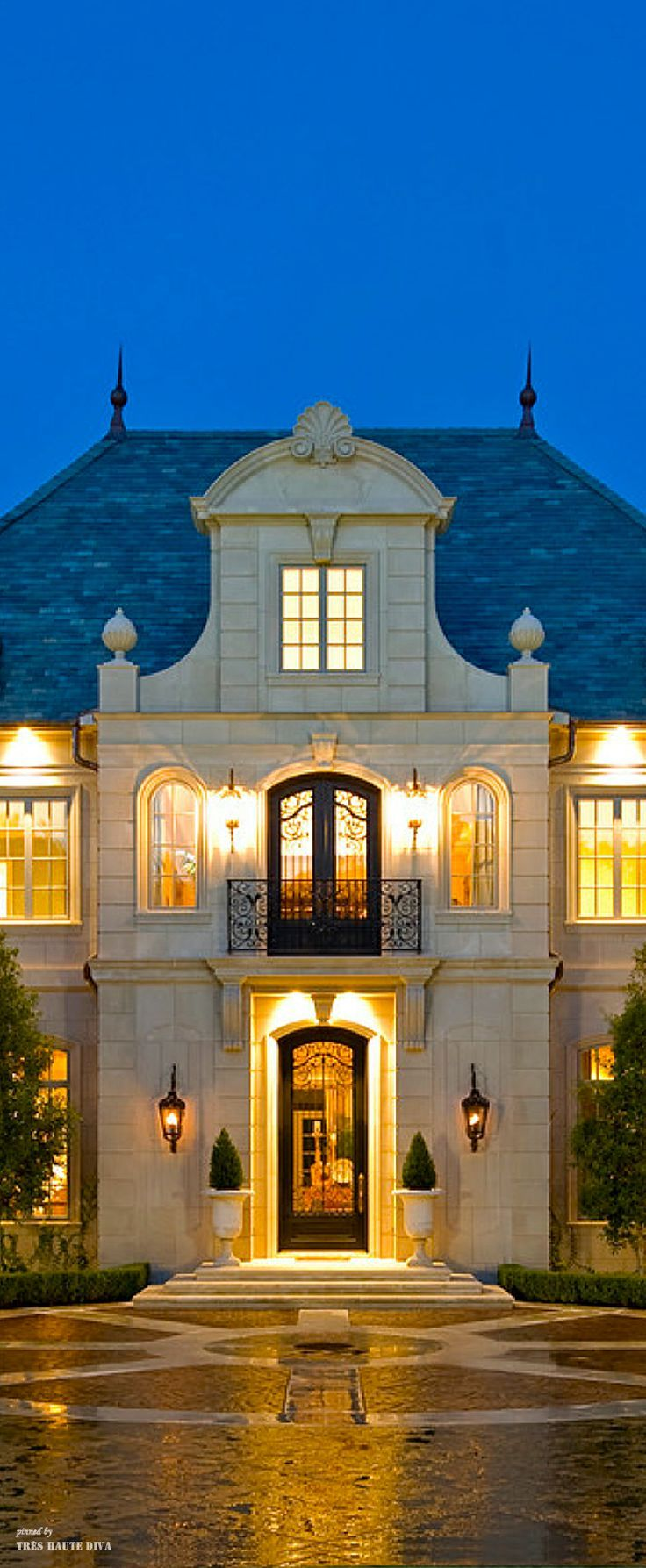 French Style Mansion Manor Pinterest