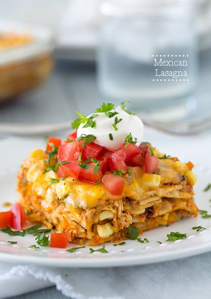 Mexican Lasagna - my entire family loved this kids included! It is ...
